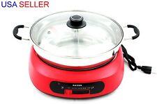 Electric Shabu Shabu Hot Pot Divided New Electric Hot Pot