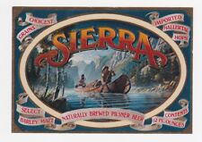 Sierra Beer Label