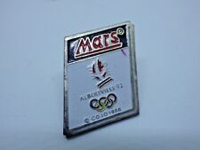 Pin's vintage year 90s MARS games olympic Albertville 92 lot R013