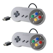 2X New Wii & Wii U Nintendo SNES System Console Controller Control Pad MINI 6ft
