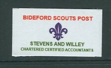 GB locals: Bideford Scout Christmas Post 2018 1v mint