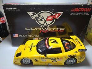 2001 A. Pilgrim, Dale Earnhardt Sr/Jr #3 GM Goodwrench Corvette 1:18 Action MIB
