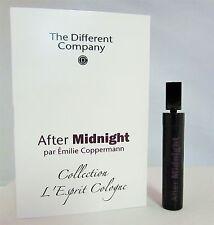 The Different Company After Midnight Eau De Toilette .04 oz 1.2 ml Sample 1 PC.