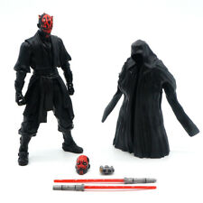 "Star Wars Black Series Sith Warrior Darth Maul 6"" Action Figure Lightsaber NOBOX"