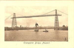 Transporter Bridge, Newport. Raphael Tuck