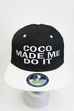 COCO MADE ME DO IT Drake ASAP Rocky Snapback Hat