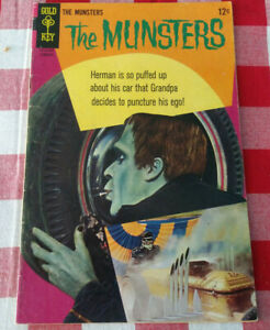 The Munsters #16 VG Comic book 1960s Silver Age Munster hot rod cover