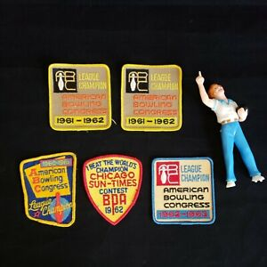 American Bowling Congress Patches 1960's Lot