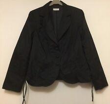 Ladies Bonita black lightweight Jacket Size 42 EUR / 14 UK