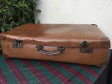 Faux Leather Hard Vintage Suitcases Travel Accessories