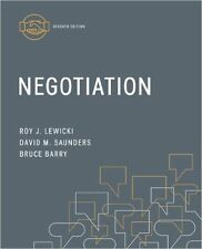 Negotiation by David M. Saunders, Bruce Barry, Roy J. Lewicki (Paperback, 2014)