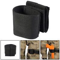Left Right Hand Molle Tactical Hunting Pistol Holster Gun Bag for Waist Belt BK