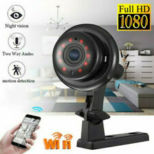 1080P Wireless WiFi CCTV Indoor HD MINI IP Camera Night Vision Home Security IR
