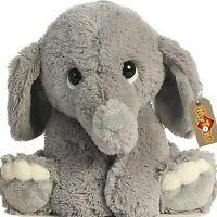 Stuffed Elephant Animal Plush - Toys for Baby, Boy, Girls  9 INCH  RORA