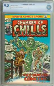 CHAMBER OF CHILLS #12 CBCS 9.8 WHITE PAGES
