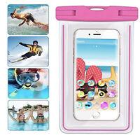 Handy Urlaub Tasche - LG Risio 3 - Schutz Hulle - HBB Pink