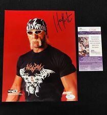 Hulk Hogan Signed Original WCW Photofile 8x10 Photo JSA COA WWE