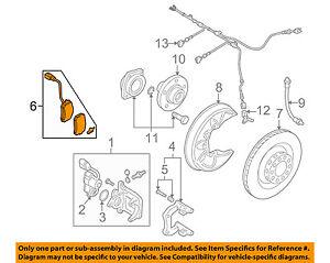 Genuine Audi Rear Brake Pads A8-4F0698451F A6