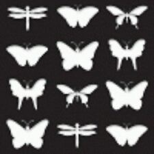 STENCIL Butterfly set of 12 Summer Lake House Garden Cottage Art Quilt Sign #97