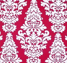 Decorator~Upholstery ~ French Scroll ~ Deep Pink ~ Fabric ~ per 1 yard