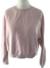 H&M Pullover Sweatshirt M 38 Rosa Kurz Divided Neuwertig Pulli Oberteil