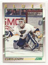 1991 Score Hockey Young Superstars - #19 - Curtis Joseph - St. Louis Blues
