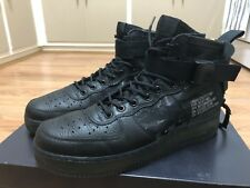 Nike Air Force 1 Mid QS Tiger Camo US11 Black Mens Sneakers Boots Worn Once Only
