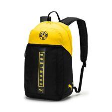 Puma Bvb Borussia Dortmund 2018 - 2019 Training Backpack Travel Gym Bag Black