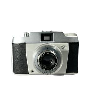 Vintage Agfa Silette Vario 35mm Camera 1950's German Camera | Untested