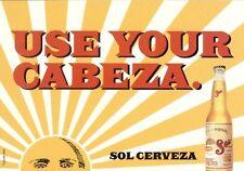 Bier Beer Sol Cerveza - GoCard aus USA - selten und bestens erhalten