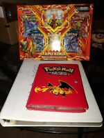Vintage Pokemon Card Collection Binder - 400+ Cards, Holos, Rares