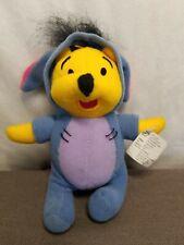 "Disney's Winnie the Pooh Dressed as Eeyore Mini Beanbag Plush 5"""