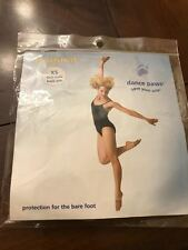 Dance Paws Original Basic Sole, Adult XS, Light Nude, New in Package