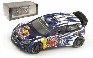 Spark S4501 VW Polo R WRC Monte Carlo 2015 - S Ogier World Champion 1/43 Scale
