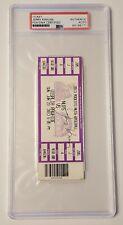 Jerry Krause PSA/DNA Authentic Autograph Chicago Bulls GM Michael Jordan Era