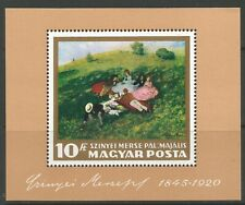 STAMPS-HUNGARY. 1966. Paintings Miniature Sheet. SG: MS2246. Mint Never Hinged