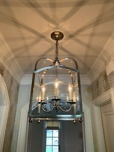 Visual Comfort Arch Top Small Lantern Chandelier From Circa Lighting