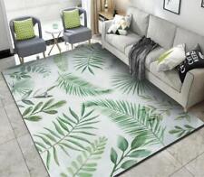 3D Green Leaves Branch Non-Slip Rug Door Shower Play Mat Hearth Floor Carpet 250