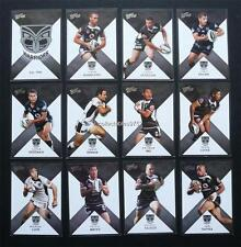 NRL 2011 WARRIORS SELECT STRIKE TRADING CARDS FULL SET 12 Cards
