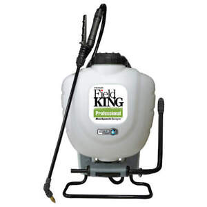 FIELD KING 190328 Backpack Sprayer,4 gal.,Poly,150 psi