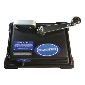 Stopfmaschine Stopfer Zigarettenstopfmaschine Maxi mit Kurbel Stopfgerät