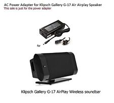 AC Adapter Power Supply for Klipsch Gallery G-17 G17 Air Airplay Speaker