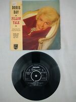 "DORIS DAY - SONGS FROM PILLOW TALK PICTURE - VG UK 7"" VINYL EP SINGLE BBE 12339"