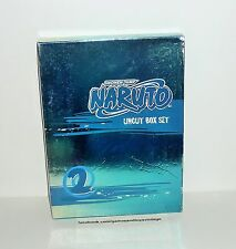 COFFRET DVD VIDEO SHONEN JUMP NARUTO UNCUT BOX SET VOL 2