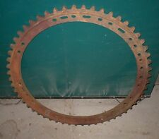 "30"" Cast Iron Antique Farm Industrial Ring Gear Wheel Art Cog"