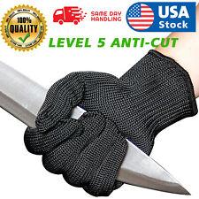 Work Gloves Stainless Steel Wire Mesh Gloves Cut Resistant Safety Work Gloves