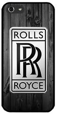 Case Cover Hard Logo Car WOOD Rolls-Royce iPhone 4s 5s 6 Samsung S3   Sony HTC