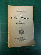 LA LEGION D'HONNEUR de JULES RENAULT