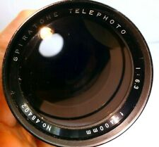 Spiratone 400mm f6.3 Lens for SONY E mount NEX ILCE α6300 α6500 α7R II cameras