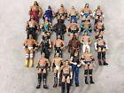 WWE Mattel Lot 8 Of 23 Wrestling Figures, Elite, Flashback, Basic, WCW, ECW